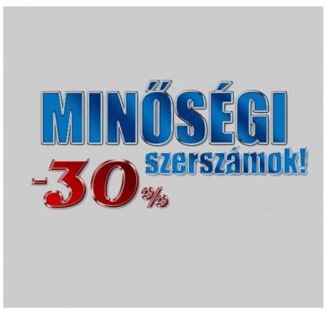 Minőségi szerszámok -30%