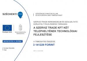 Szerviz-Trade-projekttabla