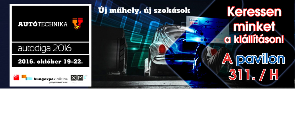 Autótechnika - Autodiga 2016